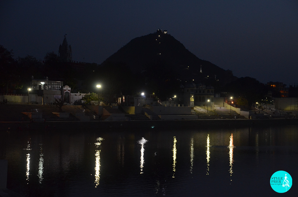 Pushkar Lake Is Surrounded By 52 Bathing Ghats In Rajasthan, India