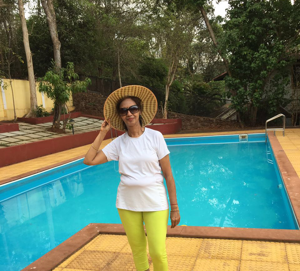 My Mother, My World :) Veena Makharia Holidaying With Her School Friends In Goa.
