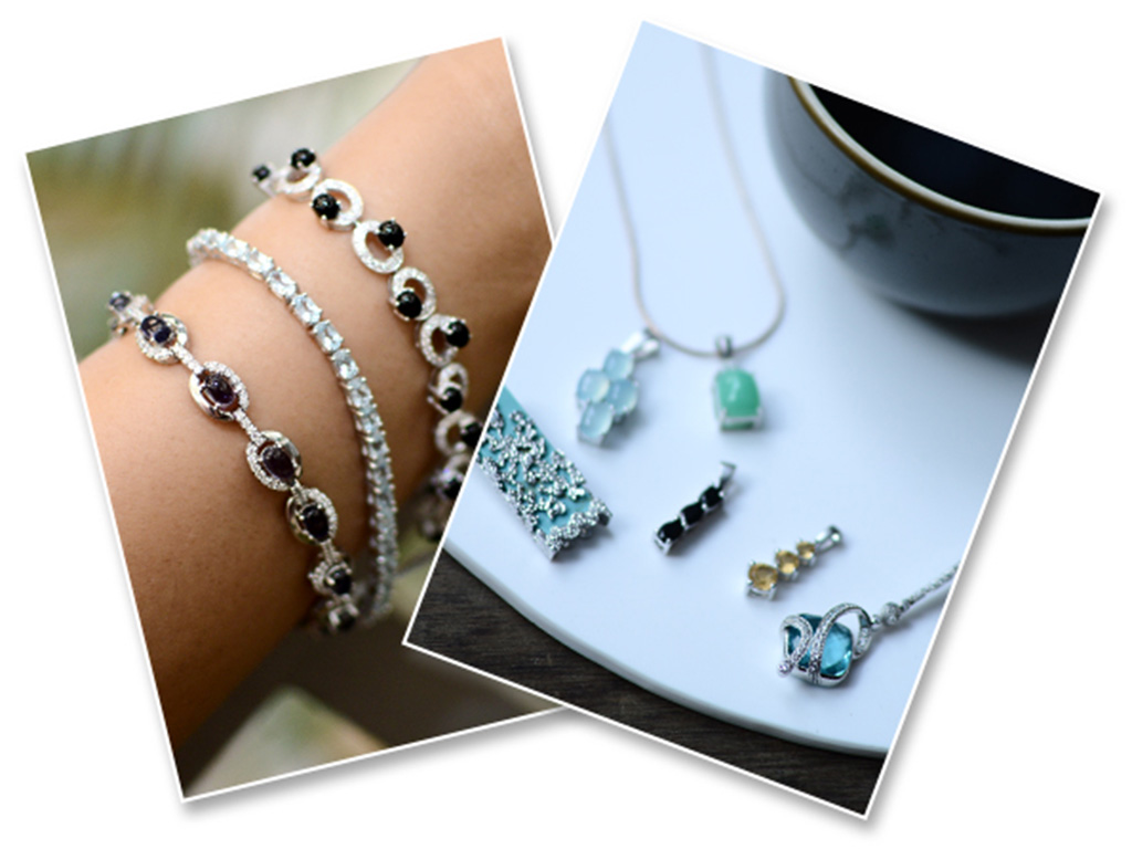 Multiple Bracelets Or Pendants Could Be Worn In Layers. Jewelry Available On Velvetcase