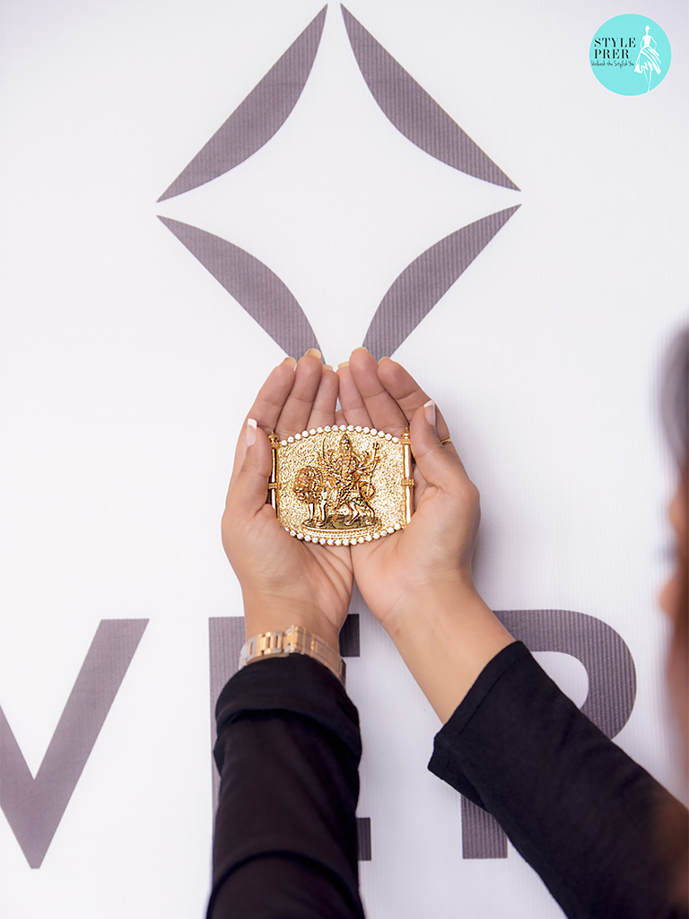Mata Gold Pendant With Forevermark Diamonds By Veekay Jewellers