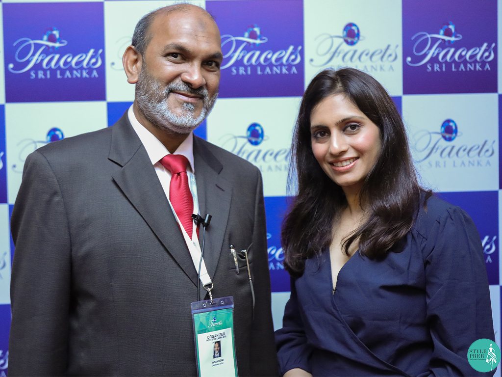 Ms. Prernaa Makhariaa with Mr. Ashan Refai