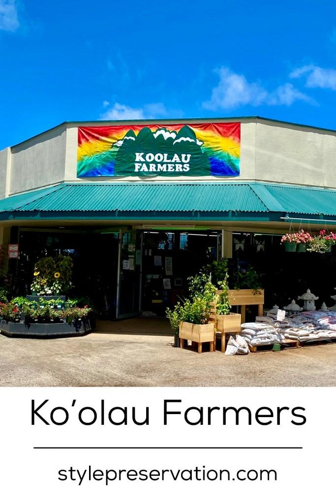 Koolau Farmers Kailua title picture
