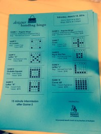 """The bags were divided into separate games, where players had to shout """"Bingo!"""" for only the specific patterns."""