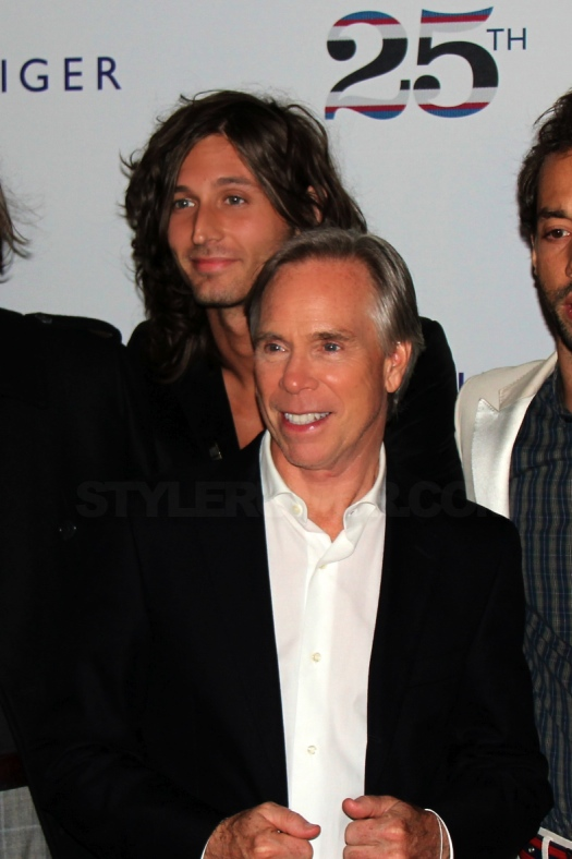 tommy-hilfiger-25-anniversary-party-the-strokes-1