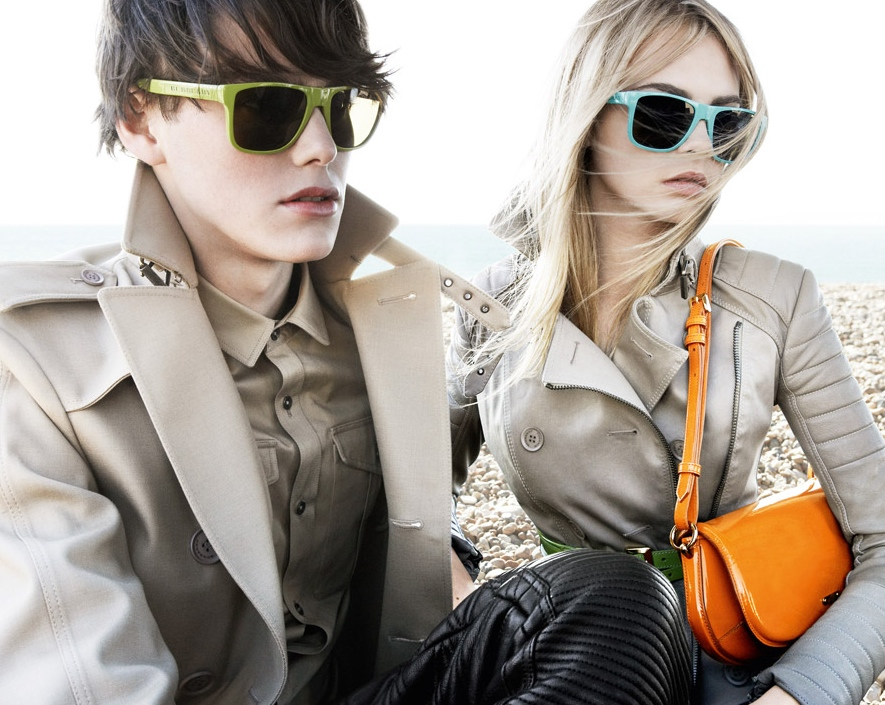 Burberry Brights Spring Summer 2011 Sunglasses Campaign 1