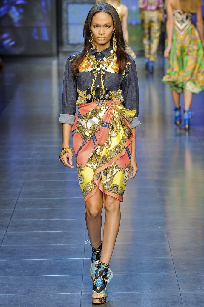 D&G Spring Summer 2012 Collection 3