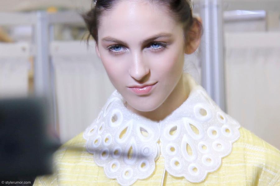 Louis Vuitton Spring Summer 2012 Backstage 8