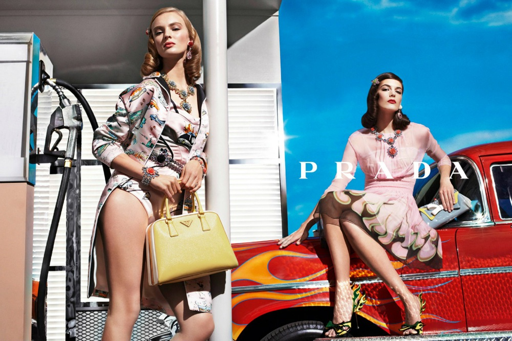 Prada Spring Summer 2012 Ad Campaign by Steven Meisel 13