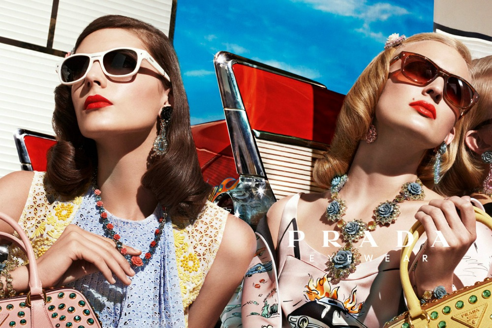 Prada Spring Summer 2012 Ad Campaign by Steven Meisel 15