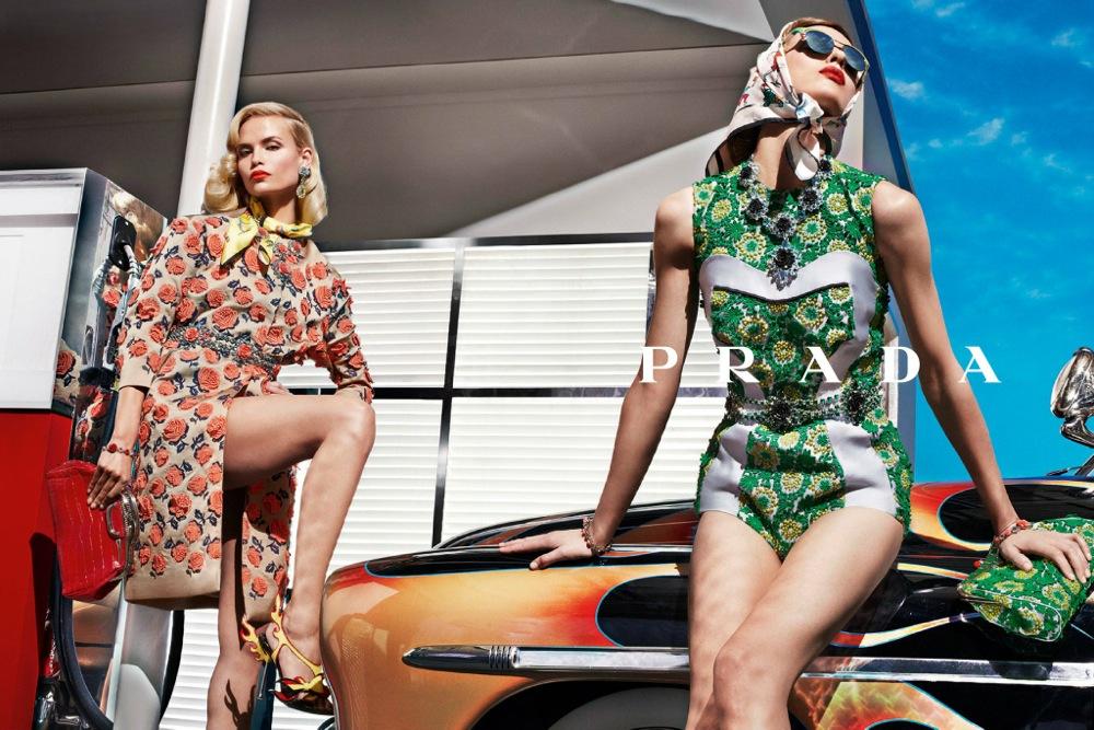 Prada Spring Summer 2012 Ad Campaign 1