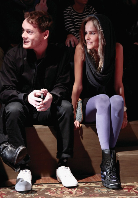 Y-3 Fall Winter 2012 Collection Isabel Lucas Anton Yelchin