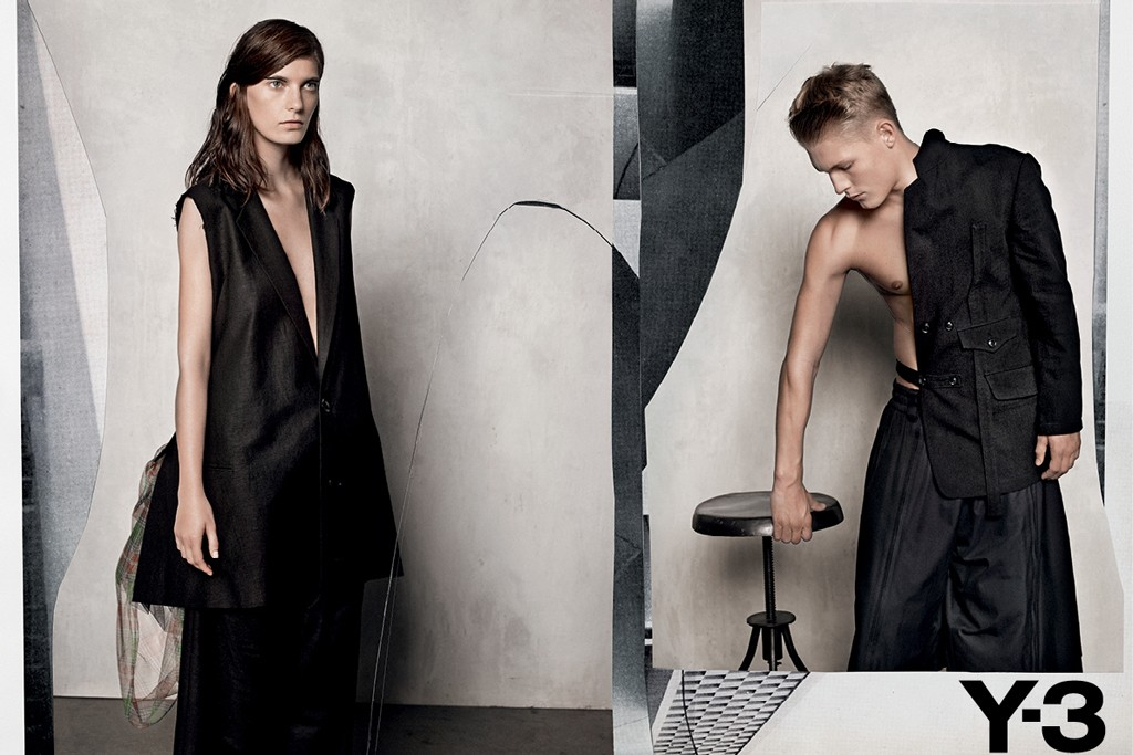 Y-3 Spring Summer 2012 Ad Campaign by Collier Schorr 4
