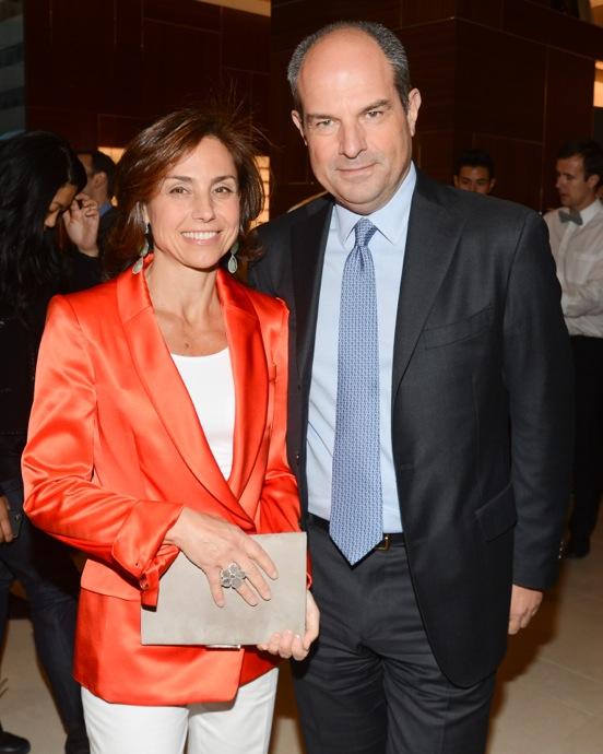 Salvatore Ferragamo Fifth Avenue Flagship Chiara Ferragamo, Massimo Ferragamo