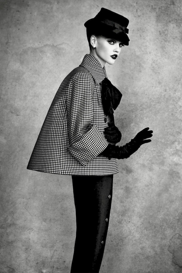 DIOR BY DEMARCHELIER Aventure Suit Haute Couture Collection Spring Summer 1948