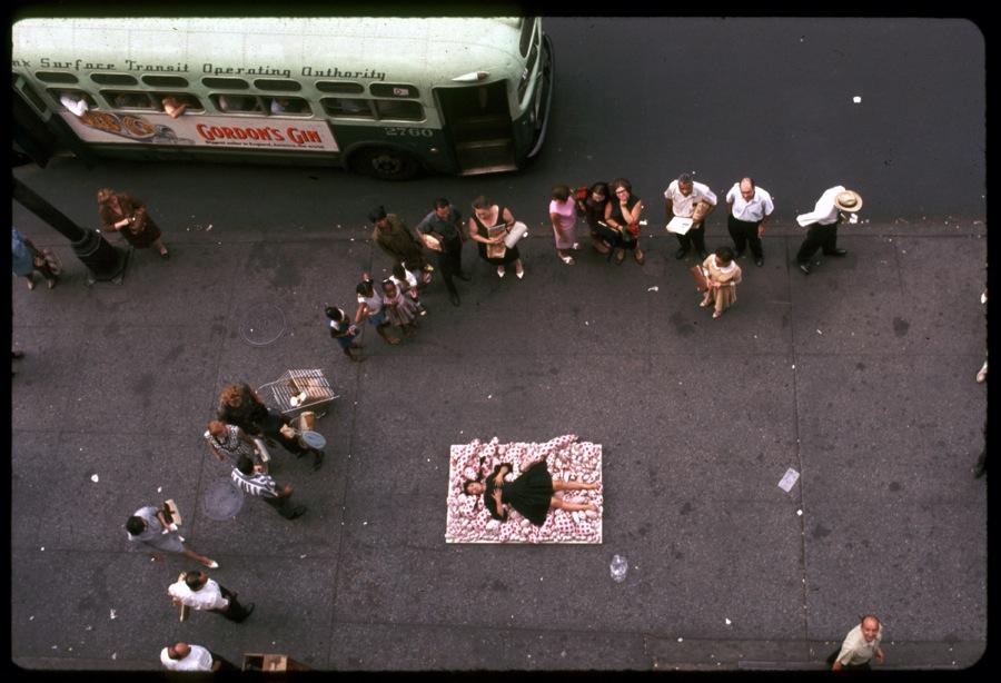 Yayoi Kusama N.Y.14th Street Happening