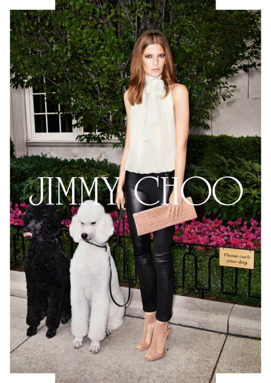 Jimmy Choo Spring 2013 Ad Campaign 2