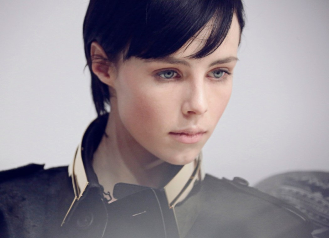 Burberry make up at the Burberry Prorsum Womenswear Autumn Winter 2013 Show - The Look 5
