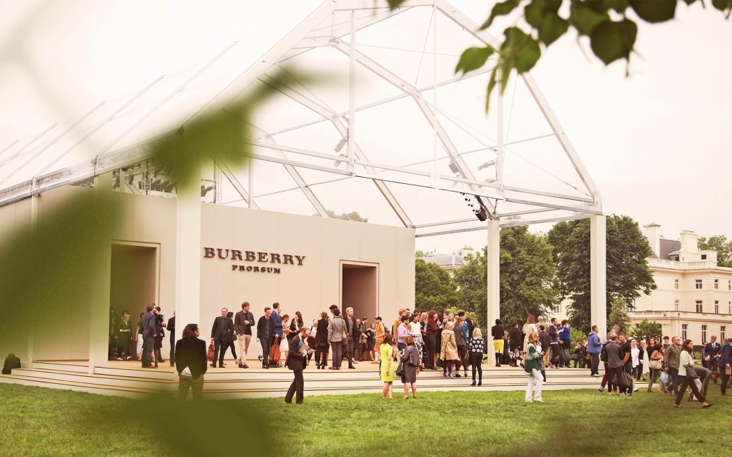 Backstage at the Burberry Spring Summer 2014 Menswear Show 3