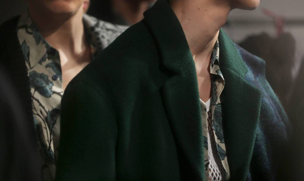 Backstage at the The Burberry Prorsum Menswear Fall Winter 2014 Show 6