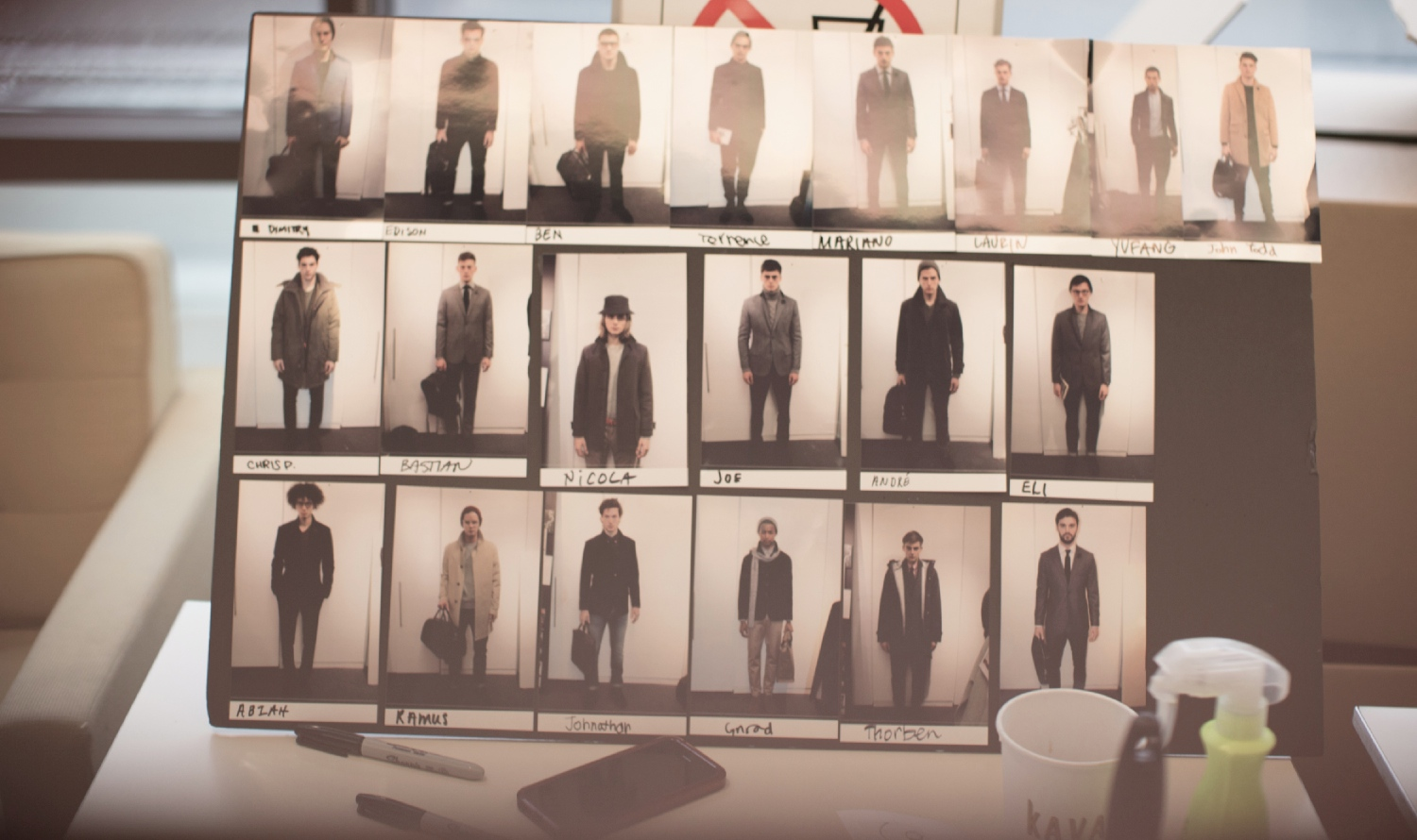 Backstage at the Jack Spade Fall Winter 2014 Show 9