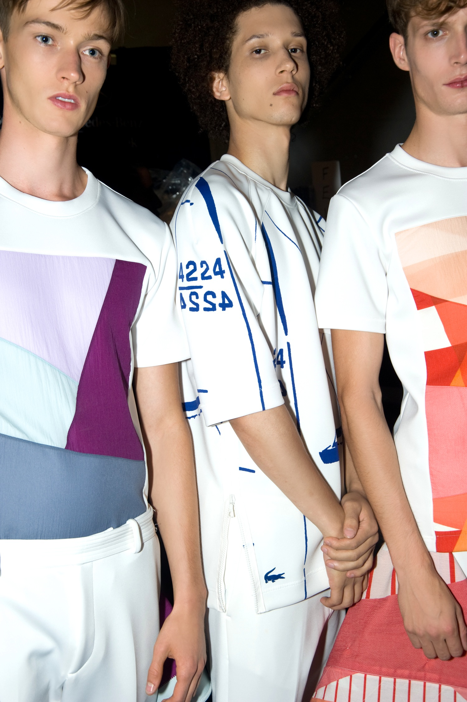 Backstage at the Lacoste Spring Summer 2015 Show 16