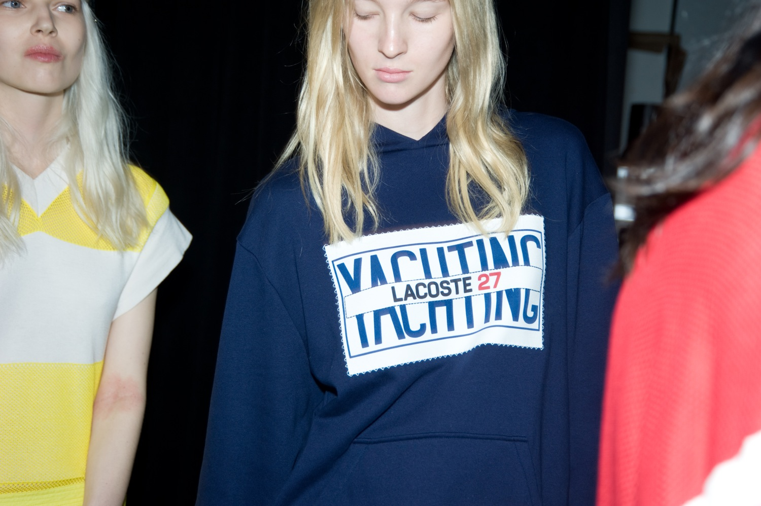 Backstage at the Lacoste Spring Summer 2015 Show 9