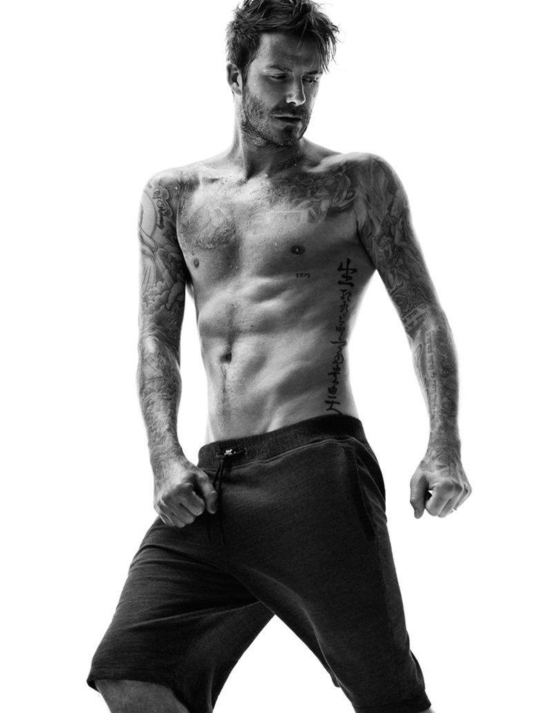 David Beckham for HM Bodywear Fall 2014 Campaign 4