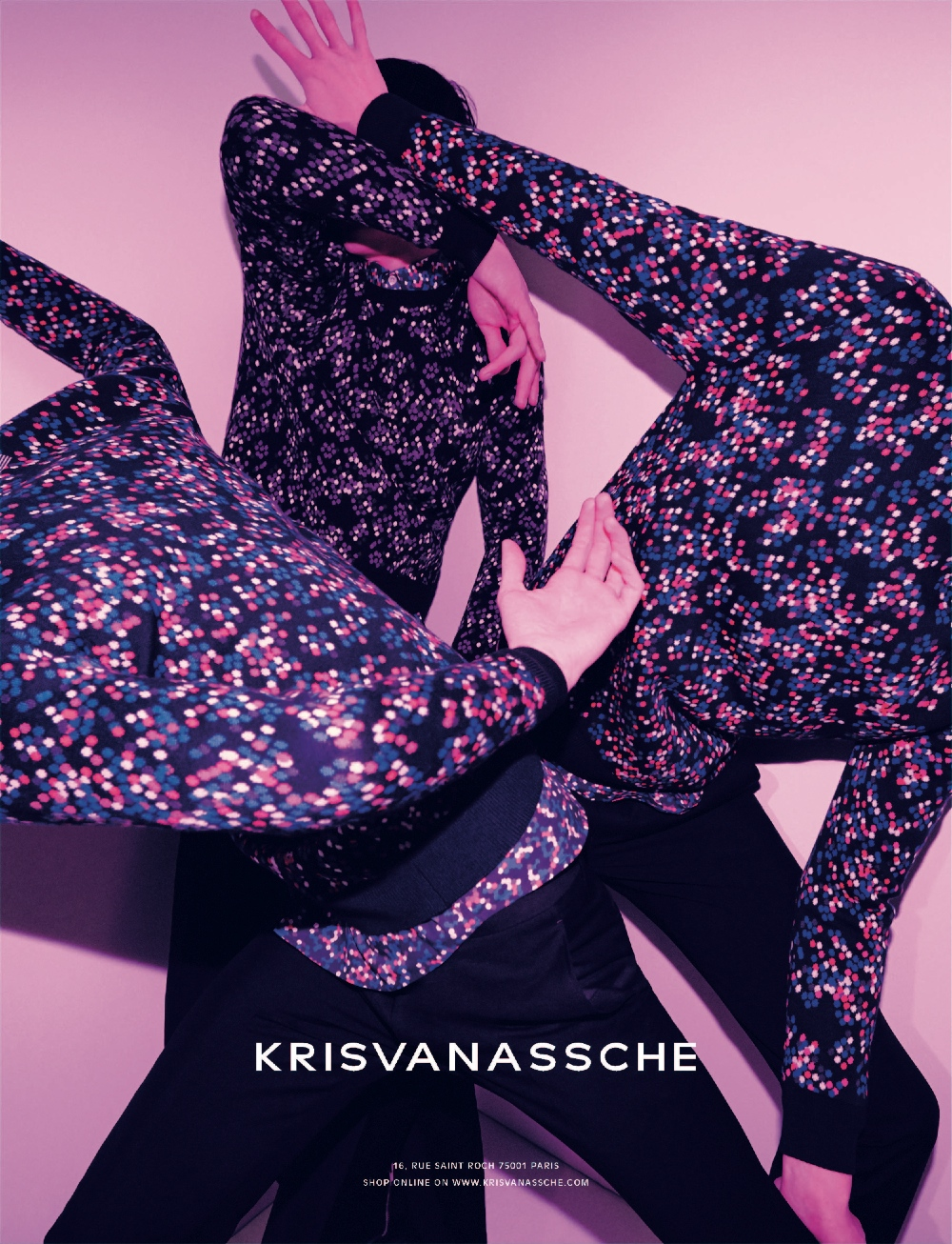 KRISVANASSCHE Fall Winter 2014 Ad Campaign 4