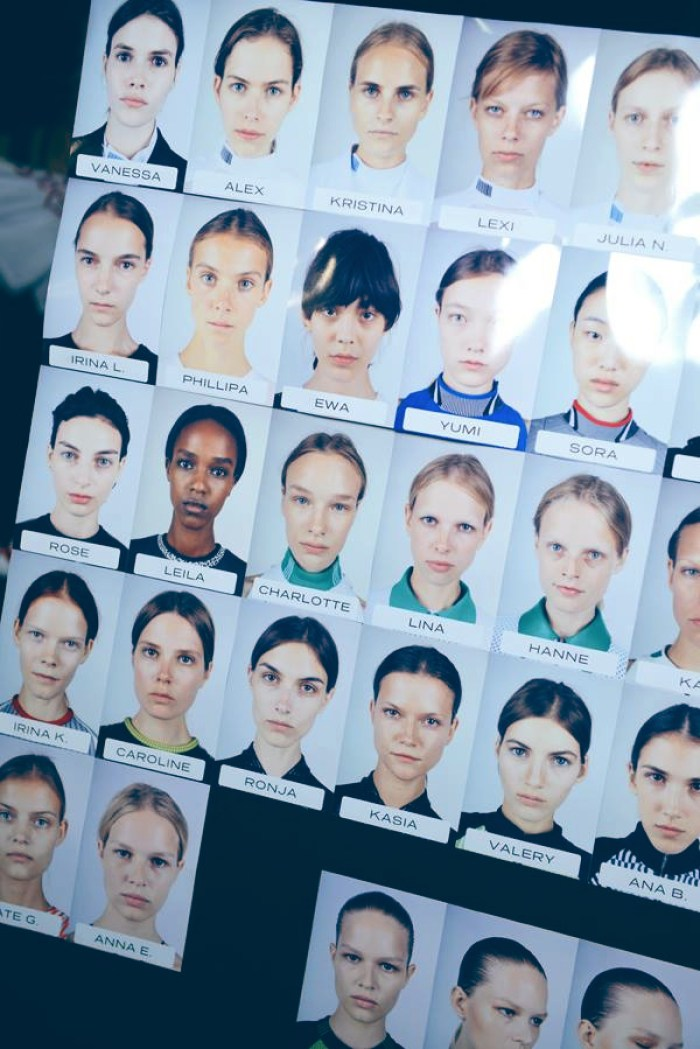 Backstage Beauty at the Alexander Wang Spring 2015 Show 11