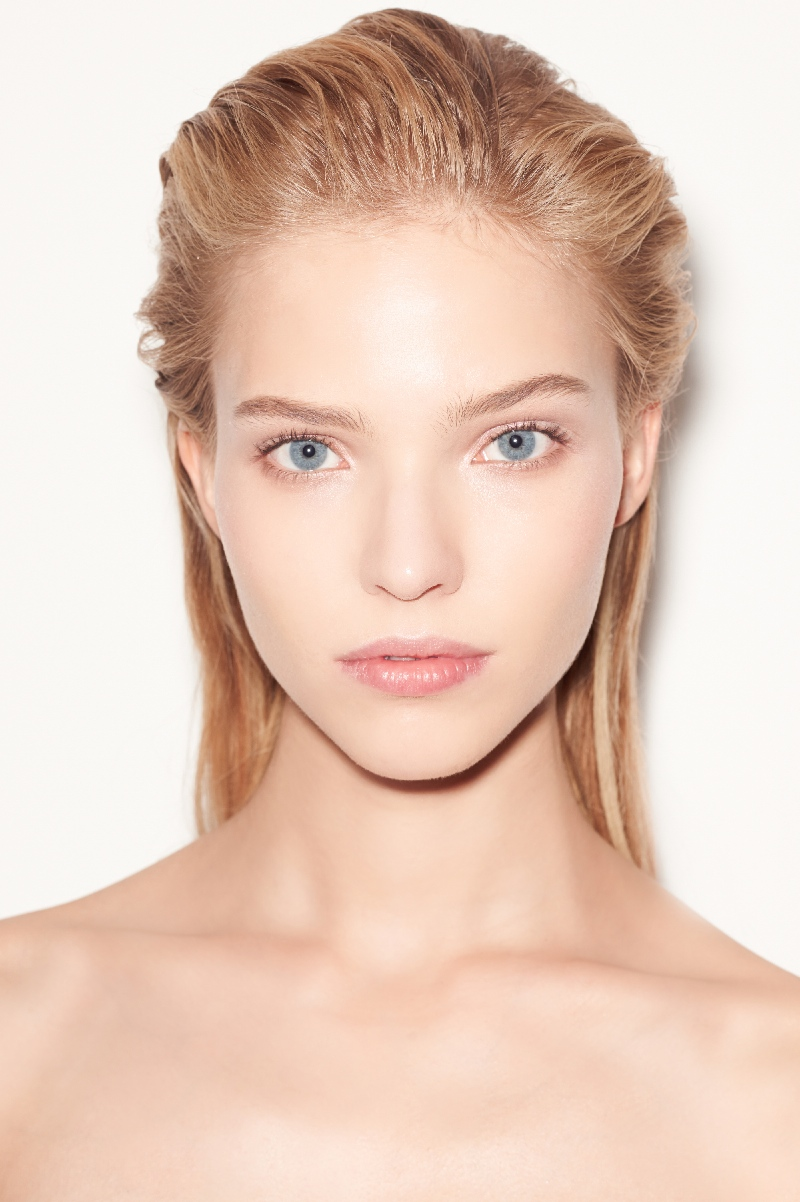 Backstage at the Versace Spring Summer 2015 Show Hair by Guido Palau for Redken 1