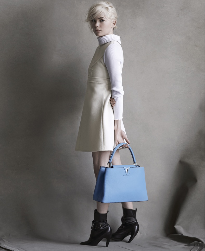 Michelle Williams for Louis Vuitton - The New Ad Campaign 2