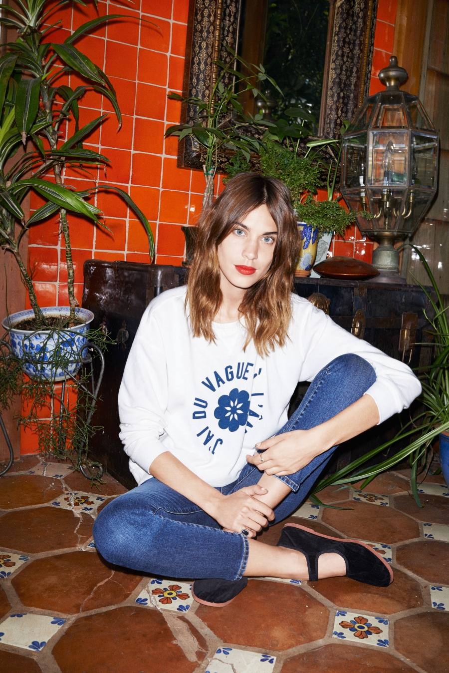 Alexa Chung for AG Jeans Collection 2