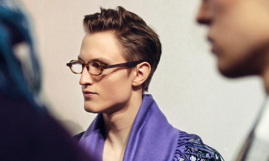 Backstage at the Burberry Prorsum Fall 2015 Show 4