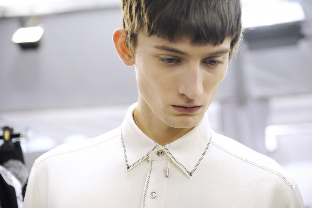 Backstage at the Louis Vuitton Menswear Fall Winter 2015 Show 15