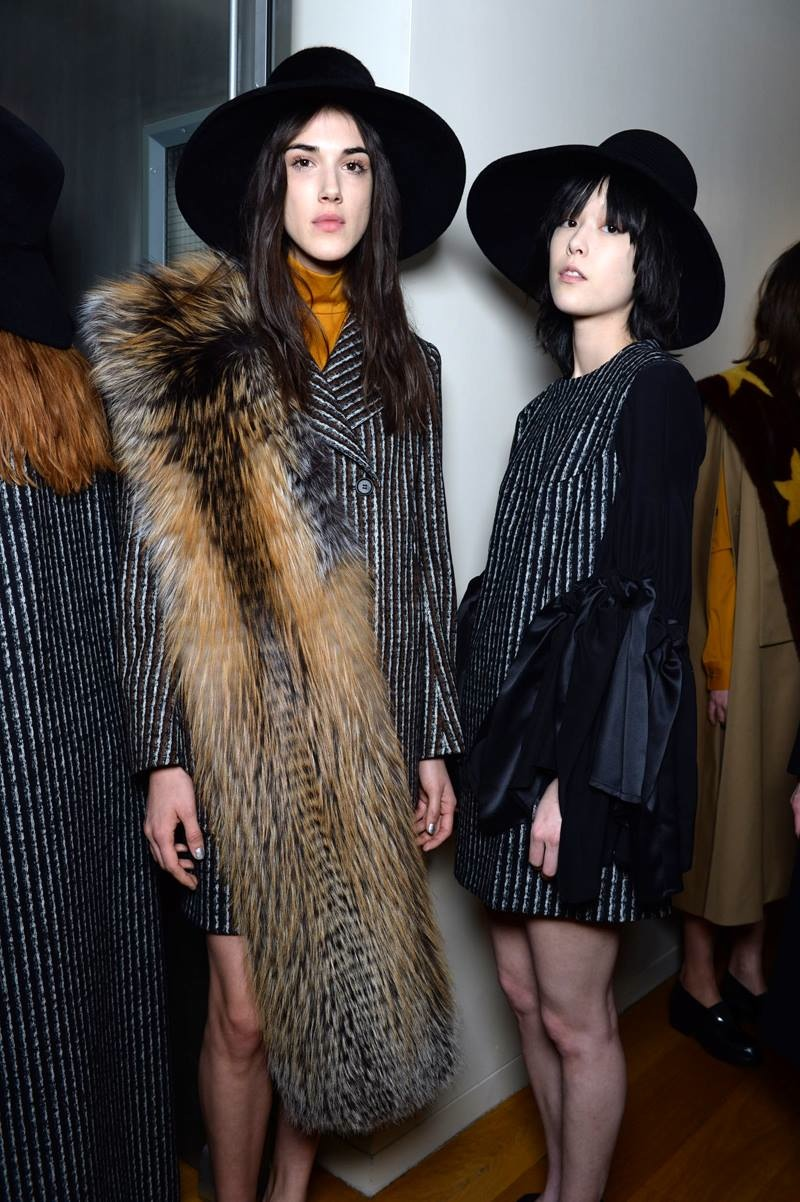 Backstage Beauty at the Creatures of the Wind Fall 2015 Show 2