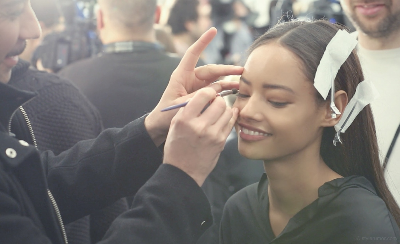 Backstage at the Tommy Hilfiger Fall Winter 2015 Show 13