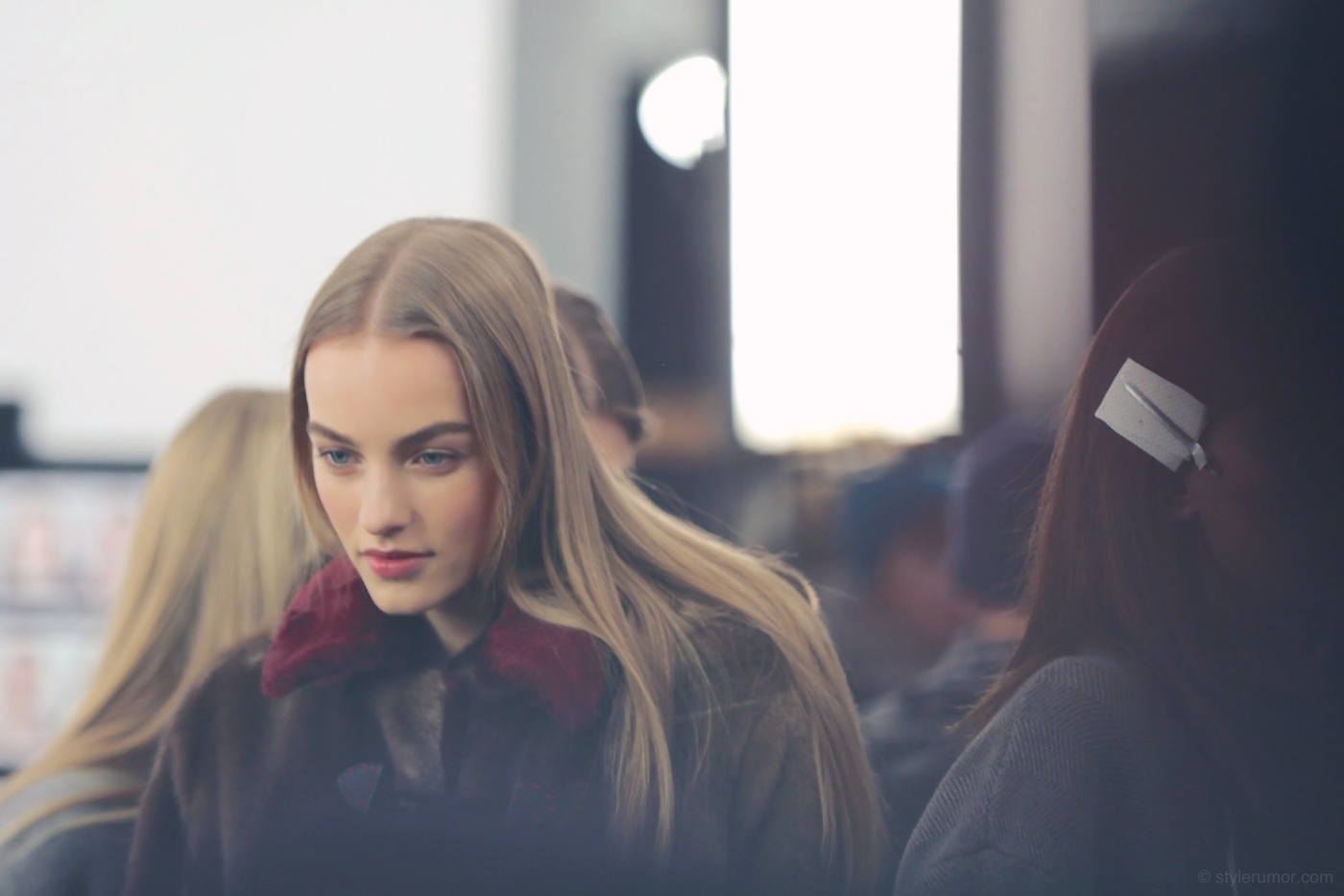 Backstage at the Tommy Hilfiger Fall Winter 2015 Show 23