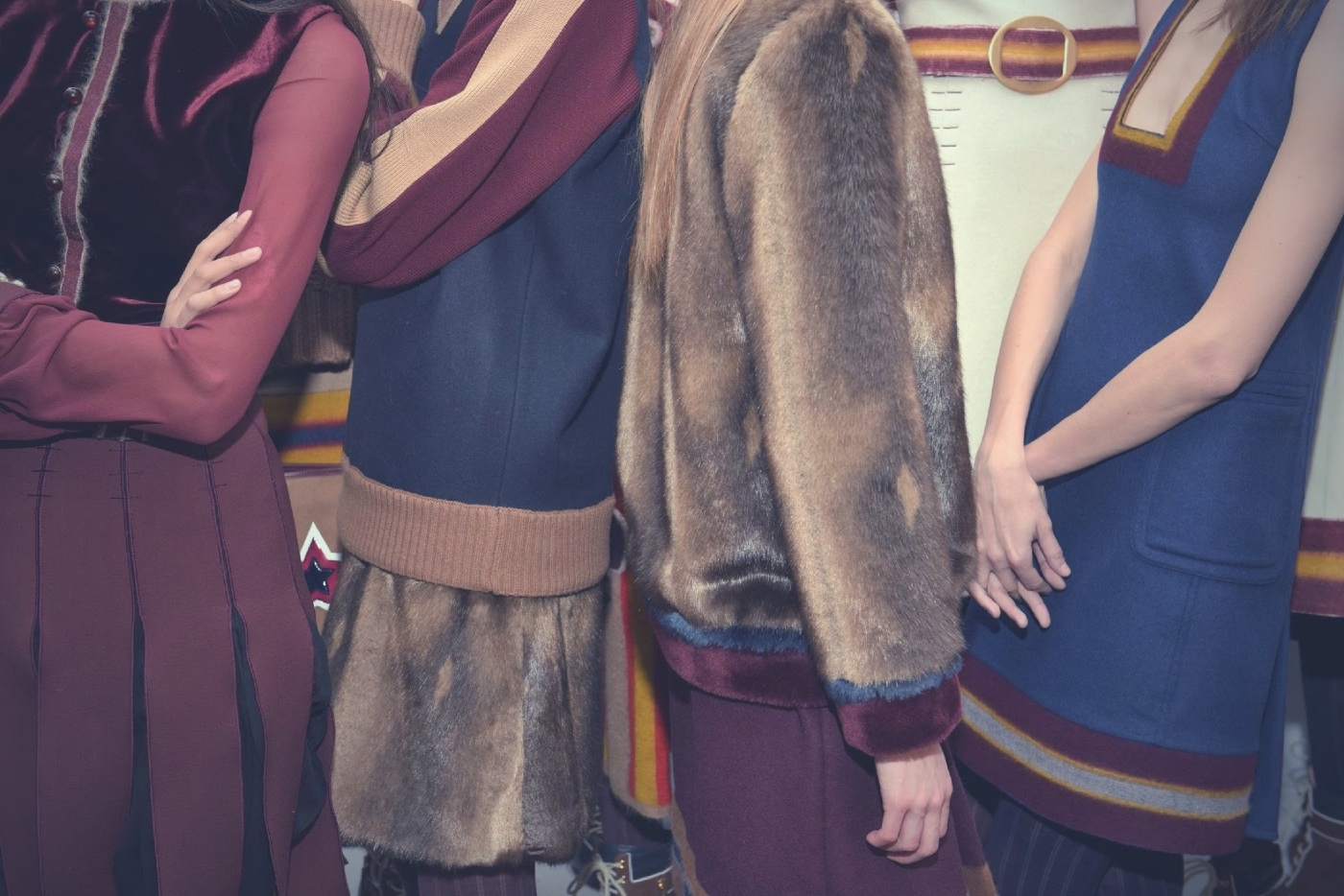 Backstage at the Tommy Hilfiger Fall Winter 2015 Show 26