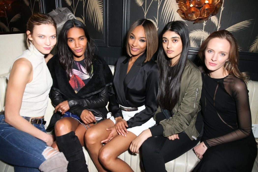 JOURDAN DUNN Cell For Gratitude Event