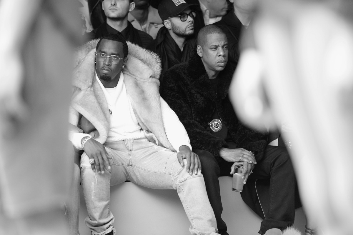 Sean Diddy Combs attends the adidas Originals x Kanye West YEEZY SEASON 1 fashion show