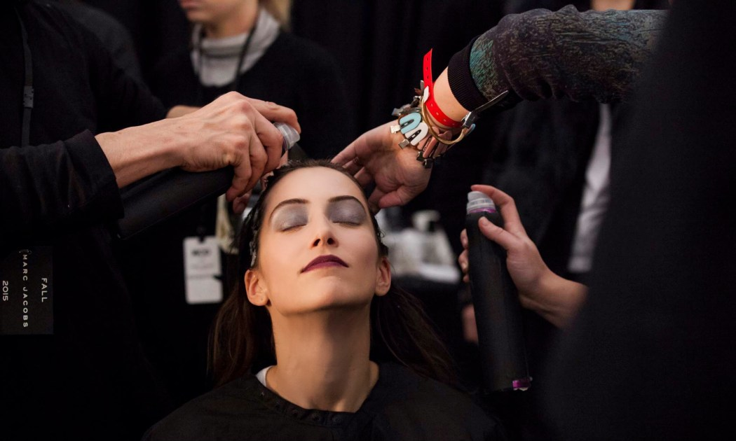 Backstage Beauty at the Marc Jacobs Fall Winter 2015 Show 3