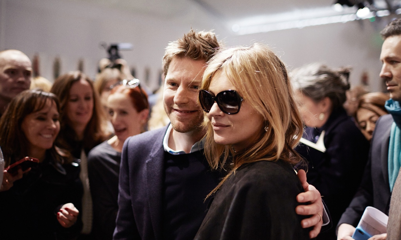Backstage at The Burberry Prorsum Fall Winter 2015 Show 12