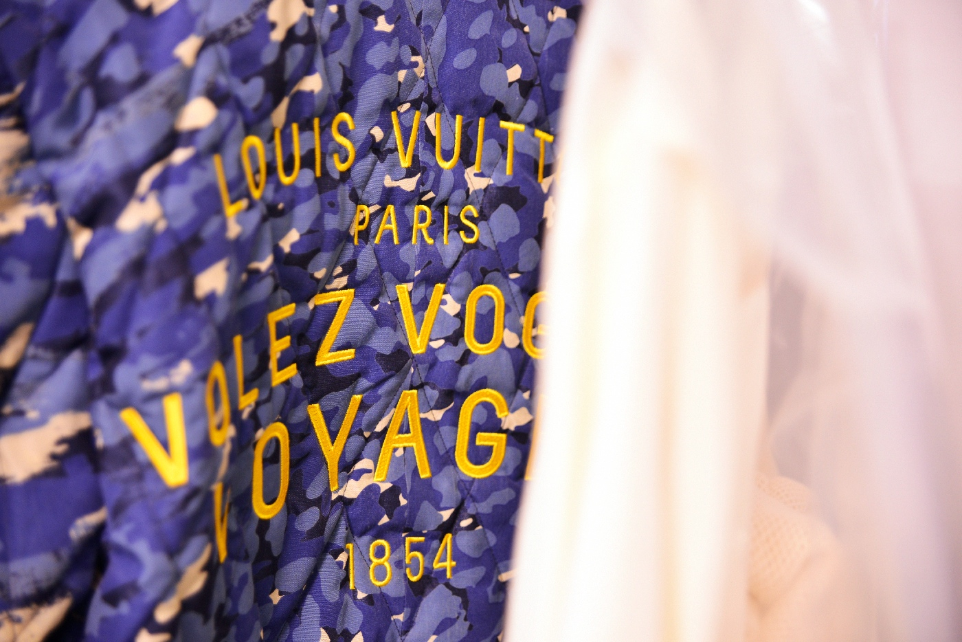 Backstage at the Louis Vuitton Menswear Spring Summer 2016 Show 11