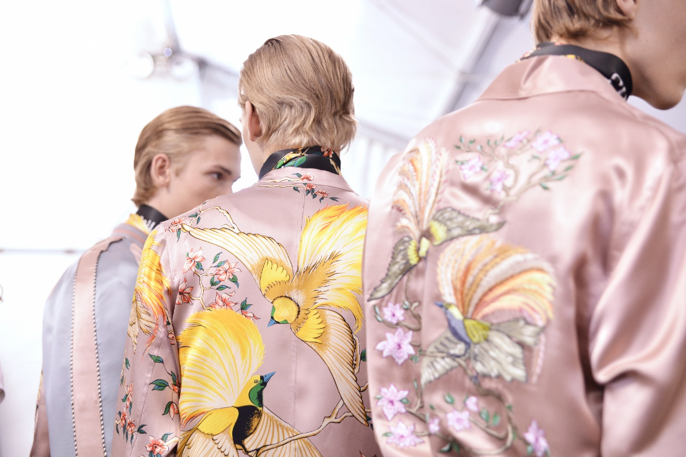 Backstage at the Louis Vuitton Menswear Spring Summer 2016 Show 16