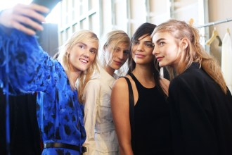 Backstage at the Michael Kors Spring Summer 2016 Show 13
