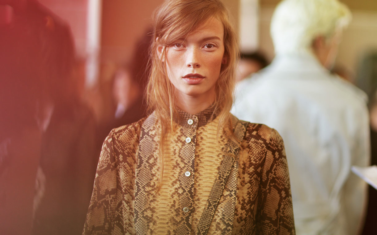 Backstage at the Michael Kors Spring Summer 2016 Show 4