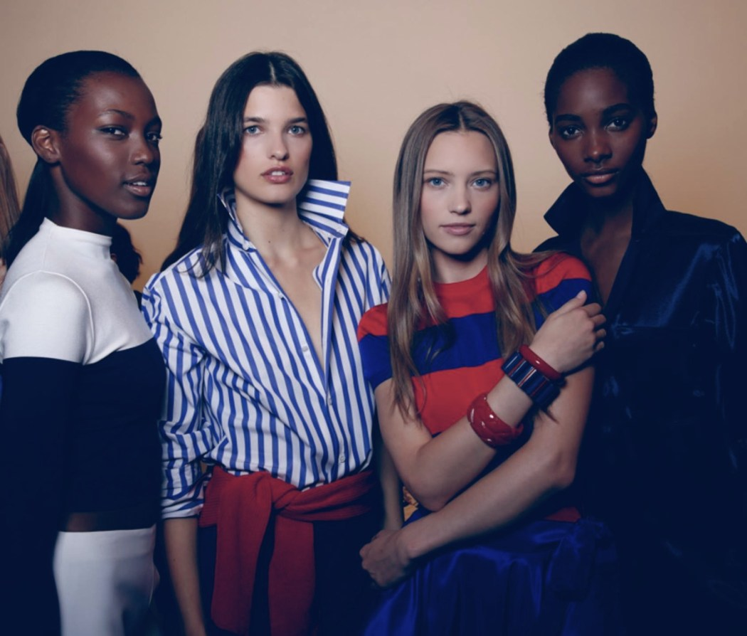 Backstage at the Ralph Lauren Spring 2016 Show 3