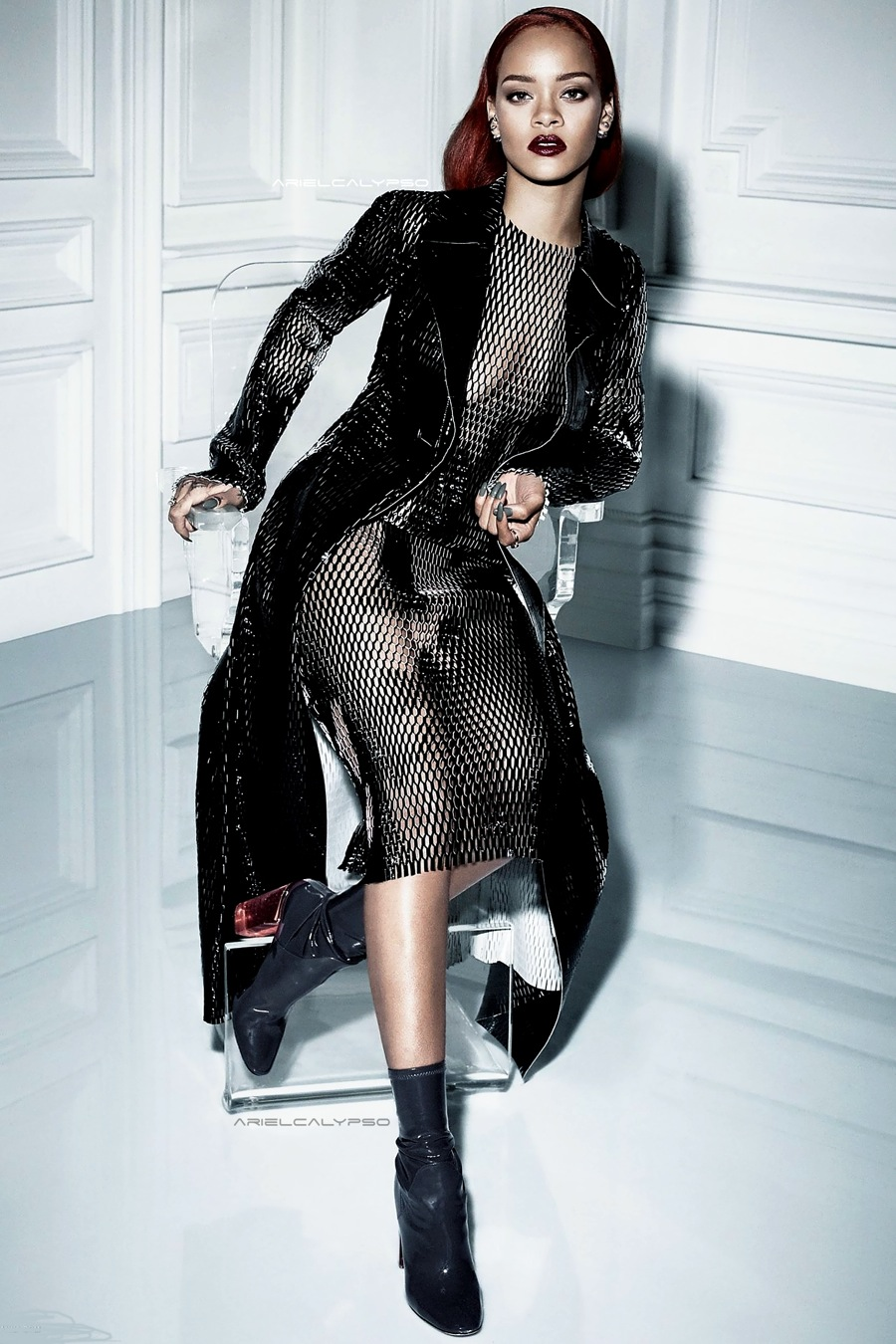 Rihanna Graces the Cover of Dior Magazine 2