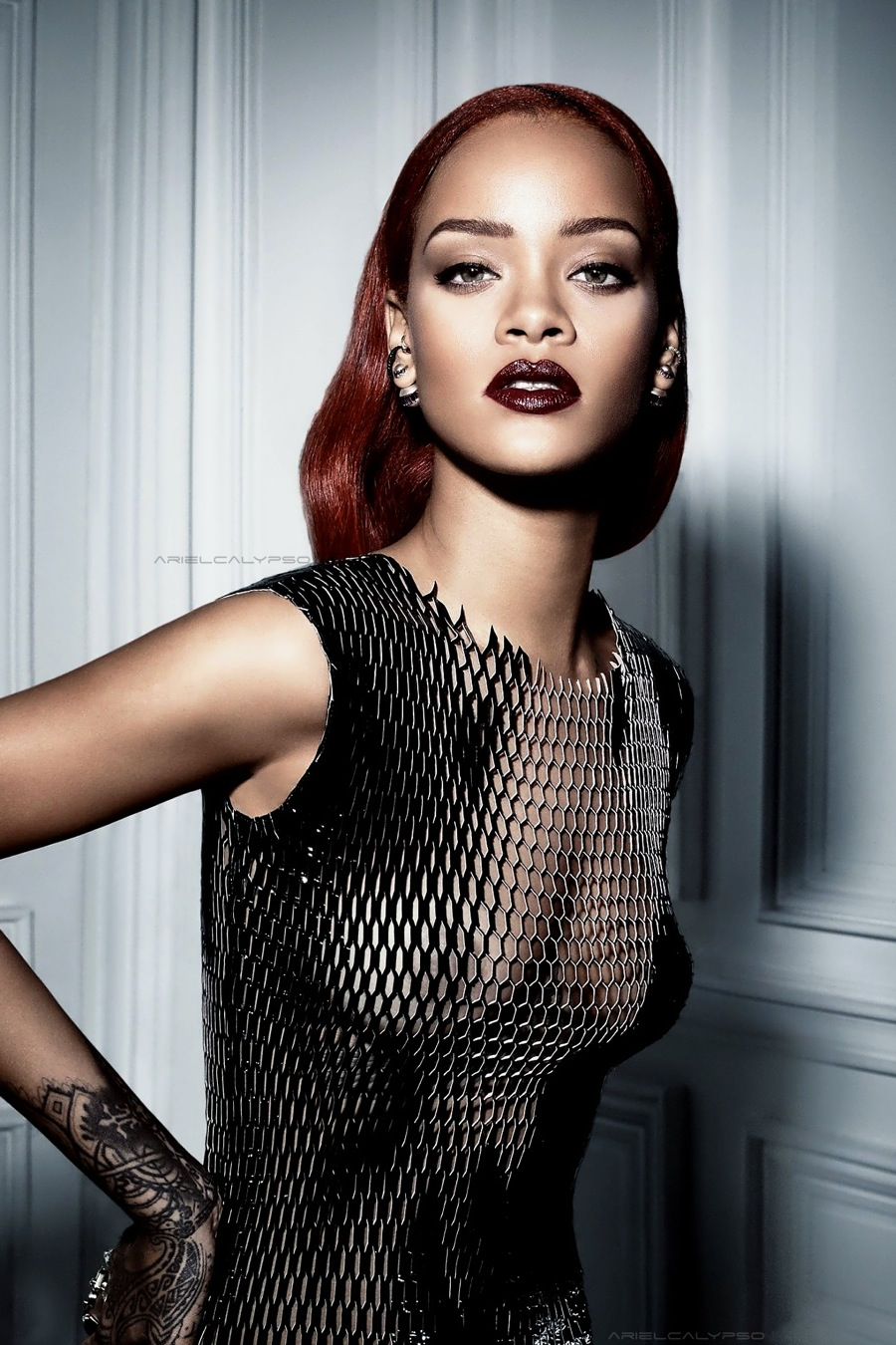 Rihanna Graces the Cover of Dior Magazine 3