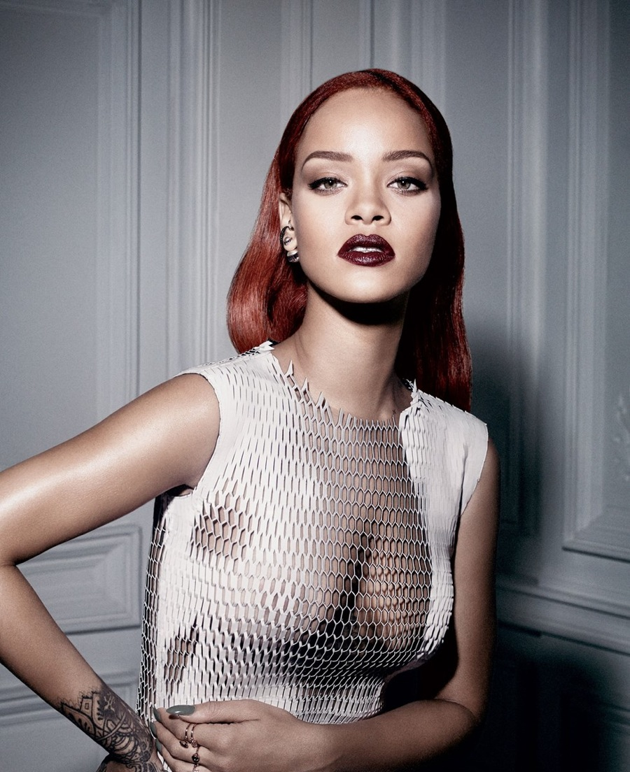 Rihanna Graces the Cover of Dior Magazine 8